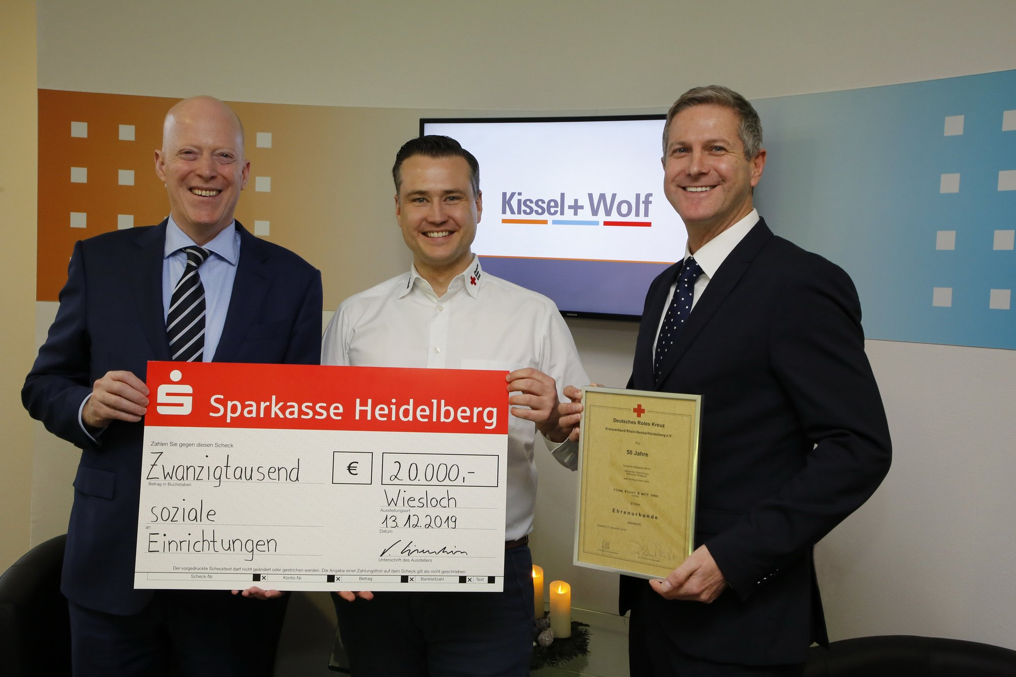 Kissel Und Wolf Spendenaktion 2019